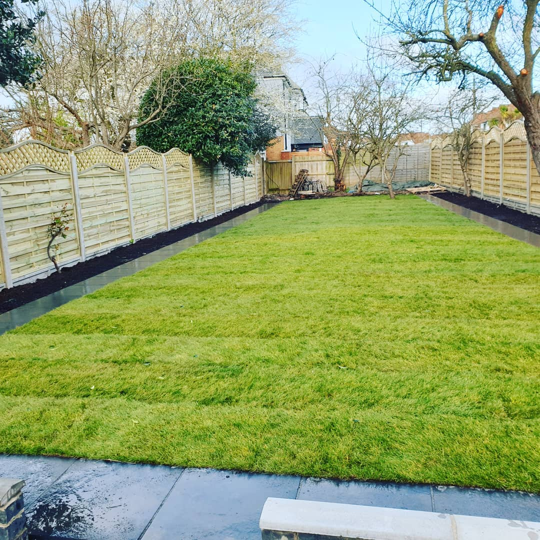 Natural turfing